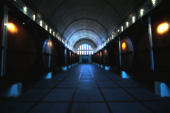 KWV Cathedral Wine Cellar, Paarl South africa